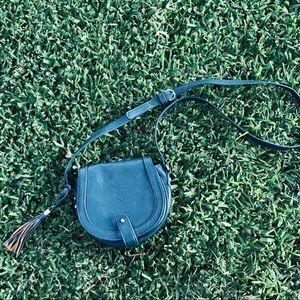 Small Green crossbody bag. Target Brand.